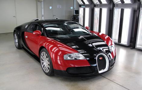 Bugatti 2013 Red