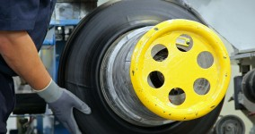 Michelin Tires filmed for National Geographic Channel's Mega Factories factual automotive documentary television film.