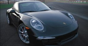 The Porsche 911 filmed for National Geographic Channel's Mega Factories factual automotive documentary television film.