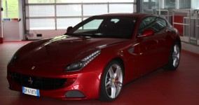 The Ferrari FF for National Geographic Channel's Mega Factories